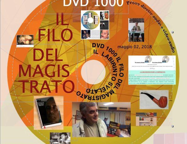 """DVD-ISO 1000-2  FINALE  SCARICABILE DA TUTTI """"FREE""""  """"IL FILO DEL MAGISTRATO ED IL LABIRINTO SENZA PIU' SEGRETI"""" riscritta, aggiornata, compatibile con tutti i sistemi  pc"""