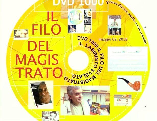 """DVD-ISO 1000-2  Golden FINALE  SCARICABILE DA TUTTI """"FREE""""  """"IL FILO DEL MAGISTRATO ED IL LABIRINTO SENZA PIU' SEGRETI"""" riscritta, aggiornata, compatibile con tutti i sistemi  pc"""
